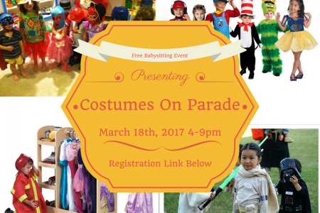 Kid's Costumes on Parade